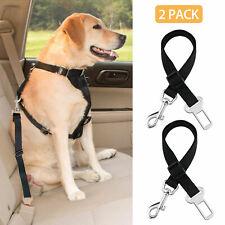 New listing 2X Cat Dog Pet Safety Seatbelt Car Vehicle Adjustable Seat Belt Harness Lead Y8