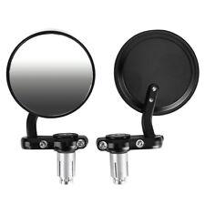 1 Paar Motorrad Rückspiegel Lenkerendenspiegel Spiegel Universal Rund (80mm)