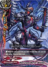 Buddyfight x 4 Black Crazed Warrior, Bellzelgal [D-BT02/0040EN R] English Mint F
