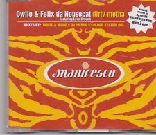 Qwilo&Felix Da Housecat-Dirty Motha cd maxi single 5 tracks