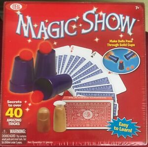 Ideal Magic Show Kid's Magic Set: 40 Tricks to Learn- Magic Show Kit NEW (2014)