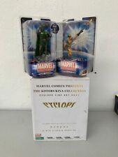LOT CYCLOPS bust  KOTOBUKIYA - WOLVERINE et Dr DOOM Marvel SELECT No sideshow