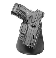 """NEW! Fobus SPND Holster for Springfield XDS, 3.3"""" & 4"""", 9mm, .40cal & .45cal"""