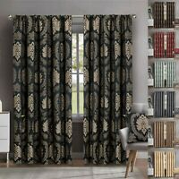Jacquard Curtains With Matching Tie Backs Fully Lined Pencil Pleat 90x90 66x72