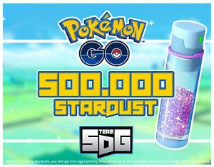 Pokemon Go Farm XP 5.000.000 (double with Lucky Eggs) +500.000 Stardust +5 Shiny
