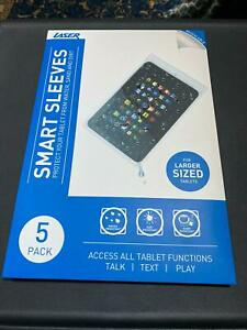 """Smart Sleeves WATER PROOF CASE FOR TABLET UP TO 10 """", 5 pack"""