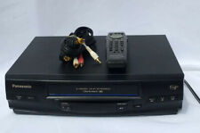 New listing Panasonic Pv-V4520 Vcr Vhs Player Recorder 4 Head Omnivision With Remote Tested