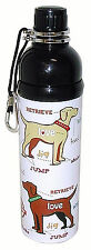 Dog Pet Water Bottle by Good Life Gear, 16 oz., New, Puppy Love Design