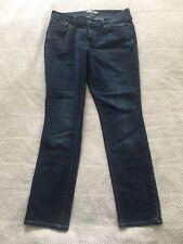Old Navy Dark Wash Denim Blue Jeans The Flirt Size 8 Short EUC!