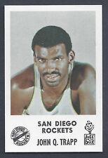 1968 Jack in the Box John Q. Trapp San Diego Rockets MT