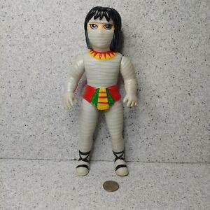 Vintage Nakajima Seisakusho Tiger Mask Egypt Mummy Vinyl Figure Sofubi Toy Anime