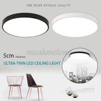 23/30cm Round LED Ceiling Down Light Ultra Slim Flush Mount Kitchen Lamp Home