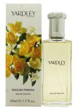 YARDLEY ENGLISH FREESIA EAU DE TOILETTE 50ML SPRAY - WOMEN'S FOR HER. NEW