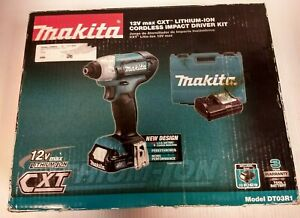 MAKITA 12V MAX CXT CORDLESS IMPACT DRIVER KIT  DT03R1