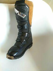No Fear Attack Motocross MX Enduro Boots Colour: Energy size 8