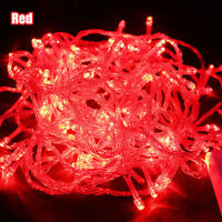 10/20/30/50M Christmas Fairy String Lights Indoor/Outdoor Xmas Decor Party Lamps