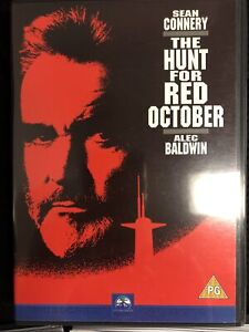The Hunt For Red October DVD Sean Connery Alec Baldwin Region 2