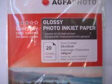Agfa Photo innkjet paper 10x15 cm A6 20 blatt  sheet 180g Glossy Paper AP18020A6