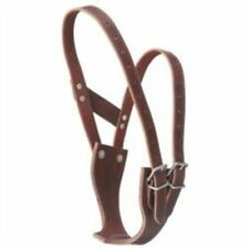 New Premium Leather Crib Be Gone Comfort Collar Large Horse Tack 52-2500L