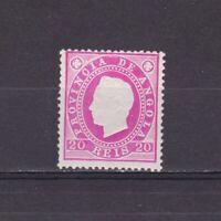 Angola 1886, Sc #18, CV $22, MLH