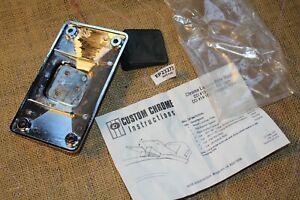 chrome laydown license plate mount NOS Harley FXR FXRT FXRD FXRP FXLR EPS23273
