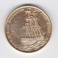 Australia 1770-1970 James Cook Bicentennial Token Endeavour off Point Hicks H702