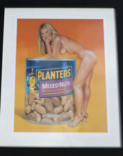 Mel Ramos print - retro kitsch pop art! Mint condition (unframed)