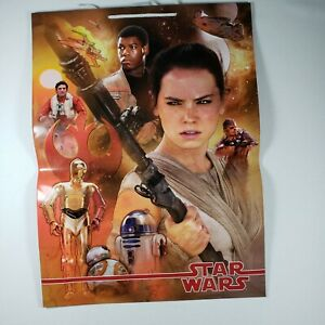 """Hallmark Star Wars """"The Force Awakens"""" - Extra Large Gift Bags - 7 Brand New"""