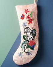 Anthropologie Embellished Velvet Stocking-$48 MSRP