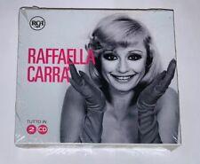 """RAFFAELLA CARRA' """"TUTTO IN 2 CD"""" RARO BOX DOPPIO CD 2017 - SIGILLATO"""