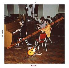 BEATLES SGT PEPPER STUDIO SESSION 1967 5x5 FANTASTIC IMAGE K-ODAK PRO LAB PHOTO