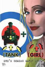 TANK GIRL Movie POSTER 27x40 Lori Petty Malcolm McDowell Ice-T Naomi Watts Jeff