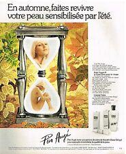Publicité Advertising 1975 Cosmétique Crème Pier Augé