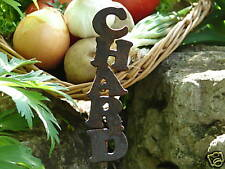 Chard Metal Veggie Garden Stake Marker Label Vegetable