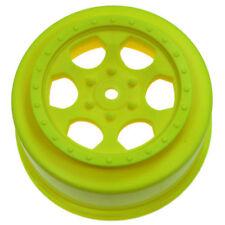 DE Racing SC Rims for Losi TEN-SCTE Yellow Wheels Front/Rear # SCT-10Y