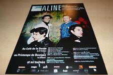 ALINE - REGARDE LE CIEL !!!!!!!!!!!2013 !!!UK!!! PUBLICITE/ADVERT!!!