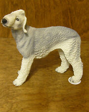 """Castagna Dog Figurines #115G Bedlington Terrier, Made In Italy, New/Box 4.5"""""""