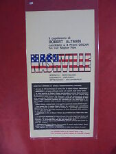 N 078 locandina: NASHVILLE di Robert Altman