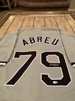 Jose Abreu Autographed/Signed Jersey Chicago White Sox