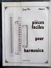 Pièces faciles pour harmonica, volume 1, Georges Vilio, 1981