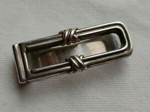 Sterling silver Tiffany money clip
