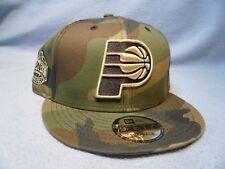 pretty nice a1f3e ccbfe New Era 9Fifty Indiana Pacers Camo Metallic Snapback BRAND NEW hat cap NBA