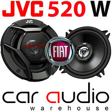 Fiat Grande Punto 3 Door JVC 13cm 520 Watts 2 Way Rear Car Speakers & Brackets
