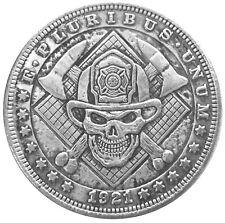Hells Fire Brigade Novelty Lucky Texas Holdem Card Guard US SELLER FAST SHIPPING