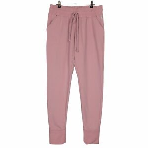 Free People FP Movement Joggers womens M Pink High Rise Soft Work it Out Pants