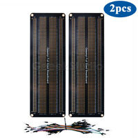 2Pack Prototype PCB Solderable Fullsize Breadboard for Arduino & Raspberry pi