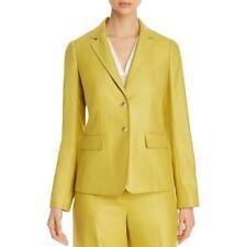 Lafayette 148 New York Womens Silk Blend Two-Button Blazer Jacket BHFO 6807
