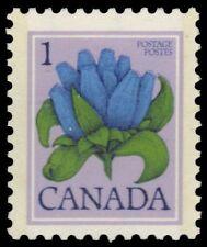 """CANADA 705 - Wildflowers """"Bottle Gentian"""" 1977 Print (pa34448)"""