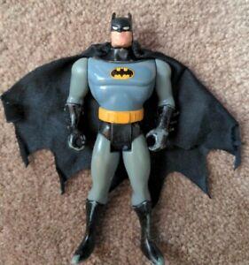 1993 Kenner Batman Combat Belt Action Figure Toy Animated Series W/ Cape