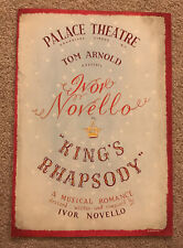 More details for palace theatre london 'kings rhapsody' programme 1949